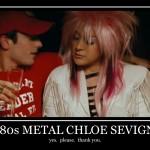 Goddamn 1980s Metal Chloë Sevigny Is Hot!