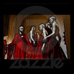 21 – Blood Mascarade Poster from Zazzle.com