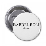 Barrel Roll 2 Pinback Button from Zazzle.com