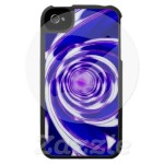 Hidden Vortex iPhone 4 Case from Zazzle.com