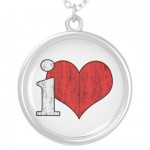 iLove Necklace from Zazzle.com