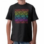 OMNOMNOMNOM 3 Rainbow 1 Shirts from Zazzle.com