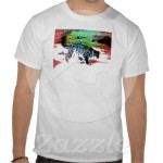 Snow Hunter 1 T-shirt from Zazzle.com