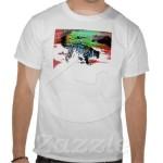 Snow Hunter 1 T-shirt from Zazzle.com