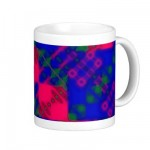 XenoPlaid Mug 2 from Zazzle.com