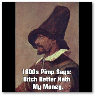 1600s Pimp 2 Poster