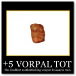 +5 Vorpal Tot Poster from Zazzle.com