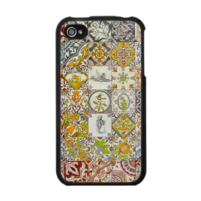 Dutch Ceramic Tiles Case For The Iphone 4