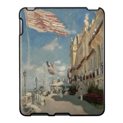 Hôtel des Roches Noires, Trouville (1870) Ipad Skins