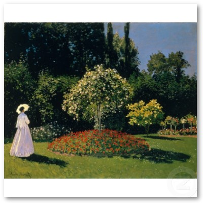 JML in the Garden (1866) Poster