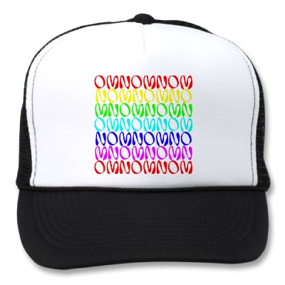 OMNOMNOMNOM 4 Rainbow 2 Mesh Hats