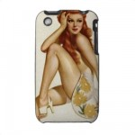 PinUpz 1 iPhone 3G/3GS Case from Zazzle.com
