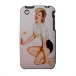 PinUpz 9 iPhone 3G/3GS Case from Zazzle.com