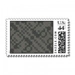 PlaidWorkz25 Stamp from Zazzle.com