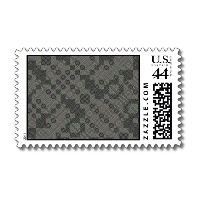 PlaidWorkz25 Stamp