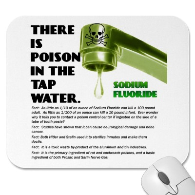 THERE IS POISON IN THE TAP WATER! MOUSEPADS