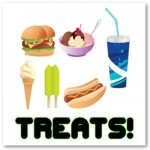 Treats Green Poster from Zazzle.com