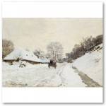 A Cart on the SR at Honfleur (1865) Canvas Print from Zazzle.com