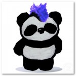 Punk Rock Panda Poster from Zazzle.com