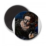 22 – Black Touch Fridge Magnets from Zazzle.com