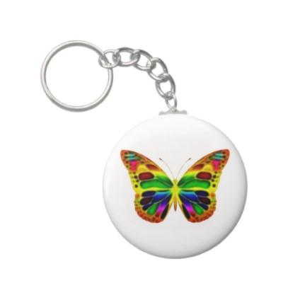 ButterflyWarrior 4 Keychain