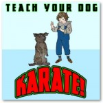 Dog Karate 2 Poster from Zazzle.com