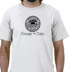 Money Equals Debt Tshirt from Zazzle.com