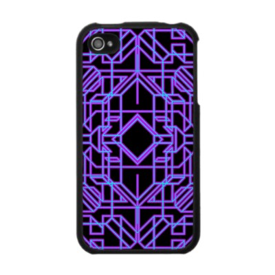 Neon Aeon A iPhone 4 Case
