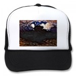 Nexus Overgrowth Trucker Hats from Zazzle.com
