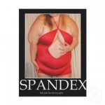 Spandex! Flyer Design from Zazzle.com
