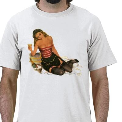 PinUpz Girl 11 Tshirts