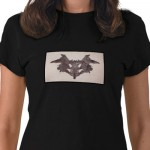 Rorschach Inkblot 1.0 Shirt from Zazzle.com