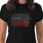 Terrorism Tee Shirt from Zazzle.com
