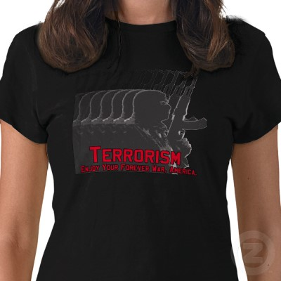 Terrorism Tee Shirt