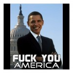 F You America 4 Poster from Zazzle.com