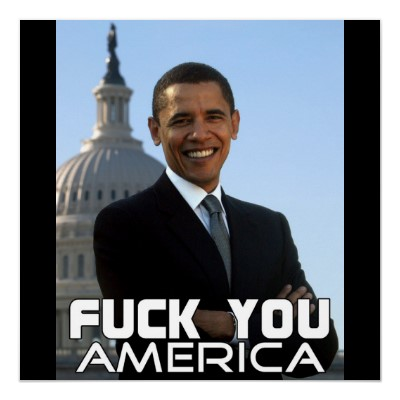 F You America 4 Poster