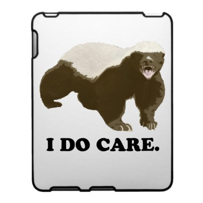 I Do Care Ipad Skins