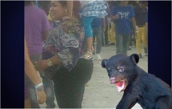 Bear girl ass — pic 1