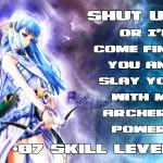 +87 Skill Level