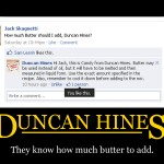 Duncan Hines - Butter