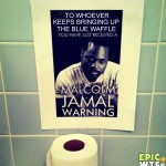Malcom Jamal Warning - blue waffle