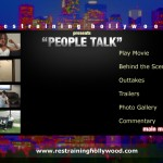 People Talk - DVD menu mockup
