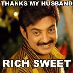 Thanks My Husband Rich Sweet