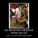 VSUs - An Important Message