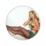 PinUpz Girl 4 Stickers