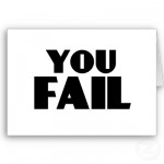 You Fail Card
