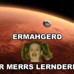 DER MERRS LERNDERNG!