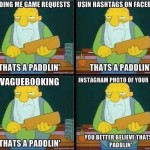 paddlin