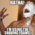 shaving foams