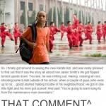 that comment